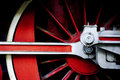 Red wheel Royalty Free Stock Photo