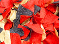 Red White and Blue Chips Royalty Free Stock Photo