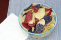 Red, White and Blue Potato Chips Royalty Free Stock Photo