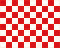 Red and white checkered pattern to use for the traditional design of japan a background checkerboard japanese Stock Photo