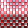 Red and white cubes Royalty Free Stock Images