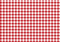 Red & white fabric Stock Photos