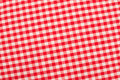 Red and white fabric Royalty Free Stock Photo