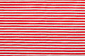 Red white horizontal pinstripe pattern Stock Photo