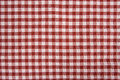 Red and White Picnic Blanket Royalty Free Stock Photo