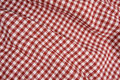 Red and White Picnic Blanket Royalty Free Stock Images