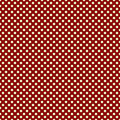Red and White Polka Dot Background Stock Photo
