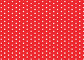 Red white polka dots Royalty Free Stock Image