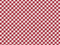 Red and white striped seamless tablecloth Stock Images