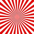Red and white sunburst abstract texture. shiny starburst background. abstract sunburst effect background. red and white ray