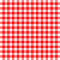 Red and white tablecloth Royalty Free Stock Photography