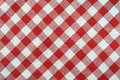 Red and white towel Royalty Free Stock Photo