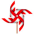 Red windmill toy Royalty Free Stock Photos