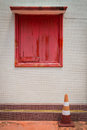 A red window Royalty Free Stock Images