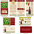 Red wine stationary Stock Photography