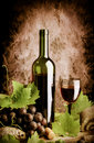Red wine still life Royalty Free Stock Image