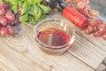 Red wine vinegar Royalty Free Stock Photo