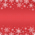 Red winter banner Royalty Free Stock Images