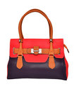 Red Womens bag Stock Photos