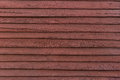 Red wood board panel for background Royalty Free Stock Photo
