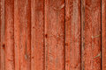 Red wooden background a in wood a wall Royalty Free Stock Image