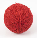 Red wool ball Royalty Free Stock Photo