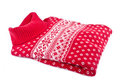 Red Wool Sweater Royalty Free Stock Photo