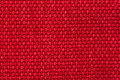 Red woven texture Stock Photography