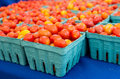 Red and yellow cherry tomatoes Royalty Free Stock Photo