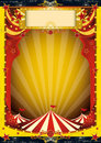 Red and yellow circus Royalty Free Stock Image