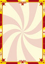 Red and yellow circus background Royalty Free Stock Photos