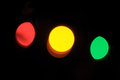 Red, Yellow And Green Lights