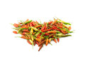 Red, yellow, and green pepper Stock Photography