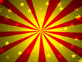 Red yellow stars Stock Images