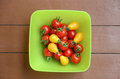 Red and yellow tomatoes Royalty Free Stock Images