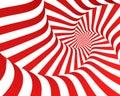 Red Zebra Spiral