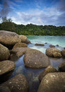 Redang island one of best view at a famous marine park terengganu malaysia Stock Image
