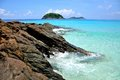 Redang island sunny and one of its seaviews Royalty Free Stock Photo