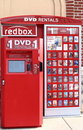 Redbox Movie Rental kiosk Stock Photography