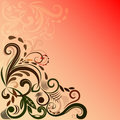Reddish background Royalty Free Stock Photo