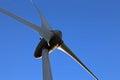 Redevance de l espace de copie de turbine de vent libre Photos libres de droits