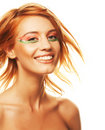 Redhaired woman Royalty Free Stock Photography