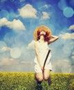 Redhead Enchantress Fly Over S...