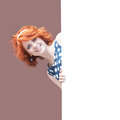 Redheaded girl Royalty Free Stock Photo