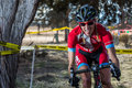Redmond golf cross cyclo cross race amy vantassel at the in oregon Stock Photography