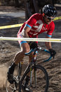 Redmond golf cross cyclo cross race competitors at the in oregon Royalty Free Stock Image