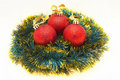 Reds christmass balls Royalty Free Stock Photos