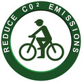Reduce Carbon Emissions Pushbike Royalty Free Stock Photos