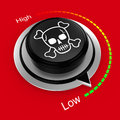 Reduce danger and risk rotary knob