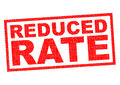 REDUCED RATE Royalty Free Stock Photo